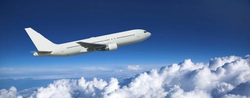 Voyage en avion, vive les vacances