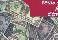 Les milles et une façons d'investir
