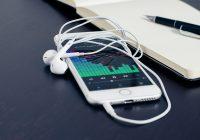 smartphone avec écouteur