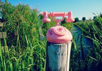 La magie d'un appel au téléphone rose