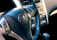Intérieur flambant neuf d'une Nissan