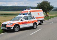 Auxiliaire ambulancier en action