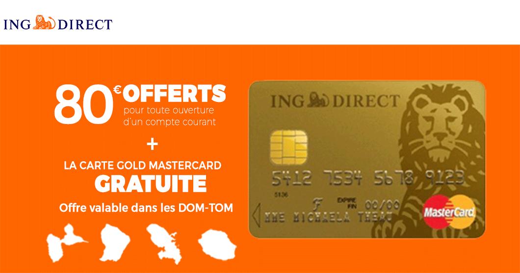 Mon avis sur ING Direct : comment cette banque vous donne 80€