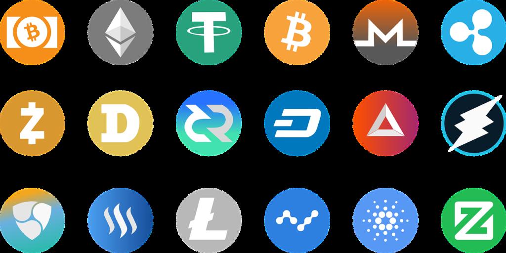logo cryptomonnaies